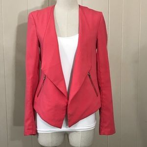 Divided peach pink blazer